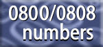 0800 numbers - improve enquiry levels with free customer calls