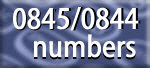 0845 numbers - free for you to use, local rates for your customers
